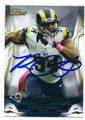 ROBERT QUINN ST LOUIS RAMS AUTOGRAPHED FOOTBALL CARD #20116A
