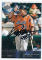 KAZUO MATSUI NEW YORK METS AUTOGRAPHED BASEBALL CARD #20116B