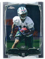 JALEN SAUNDERS NEW YORK JETS AUTOGRAPHED ROOKIE FOOTBALL CARD #20116E