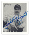 PHIL RIZZUTO NEW YORK YANKEES AUTOGRAPHED BASEBALL CARD #20116H