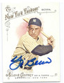 YOGI BERRA NEW YORK YANKEES AUTOGRAPHED BASEBALL CARD #20116K