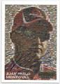 JUAN PABLO MONTOYA AUTOGRAPHED NASCAR CARD #20216C