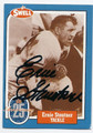 ERNIE STAUTNER PITTSBURGH STEELERS AUTOGRAPHED VINTAGE HALL OF FAME FOOTBALL CARD #20216D
