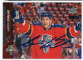 AARON EKBLAD FLORIDA PANTHERS AUTOGRAPHED HOCKEY CARD #20216G