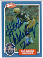 HERB ADDERLEY GREEN BAY PCKERS AUTOGRAPHED FOOTBALL CARD #20316B