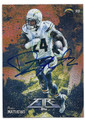 RYAN MATHEWS SAN DIEGO CHARGERS AUTOGRAPHED FOOTBALL CARD #20316i