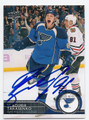 VLADIMIR TARASENKO ST LOUIS BLUES AUTOGRAPHED HOCKEY CARD #20416E