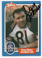 DOUG ATKINS CHICAGO BEARS AUTOGRAPHED VINTAGE HALL OF FAME FOOTBALL CARD #20416F