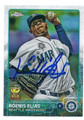 ROENIS ELIAS SEATTLE MARINERS AUTOGRAPHED BASEBALL CARD #20516H