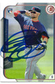 BRYCE BRENTZ BOSTON RED SOX AUTOGRAPHED ROOKIE BASEBALL CARD #20516L