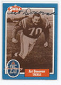 ART DONOVAN BALTIMORE COLTS AUTOGRAPHED HALL OF FAME FOOTBALL CARD #20616B