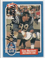 GINO MARCHETTI BALTIMORE COLTS AUTOGRAPHED VINTAGE FOOTBALL CARD #20616C