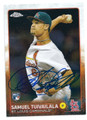 SAMUEL TUIVAILALA ST LOUIS CARDINALS AUTOGRAPHED ROOKIE BASEBALL CARD #20616H