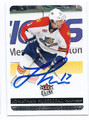 JONATHAN HUBERDEAU FLORIDA PANTHERS AUTOGRAPHED HOCKEY CARD #20716G