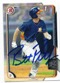 BRETT PHILLIPS HOUSTON ASTROS AUTOGRAPHED ROOKIE BASEBALL CARD #20816C