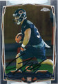 JORDAN LYNCH CHICAGO BEARS AUTOGRAPHED ROOKIE FOOTBALL CARD #20916A