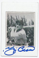 YOGI BERRA NEW YORK YANKEES CATCHER AUTOGRAPHD BASEBALL CARD #21116i