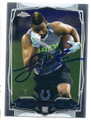 LOUCHEIZ PURIFOY INDIANAPOLIS COLTS AUTOGRAPHED ROOKIE FOOTBALL CARD #21216L
