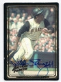 WILLIE STARGELL PITTSBURGH PIRATES AUTOGRAPHED BASEBALL CARD #21416A
