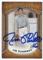 JIM PLUNKETT OAKLAND RAIDERS AUTOGRPHED FOOTBALL CARD #21516i