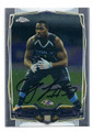 CJ MOSLEY BALTIMORE RAVENS AUTOGRAPHED ROOKIE FOOTBALL CARD #21616B
