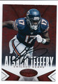 ALSHON JEFFERY CHICAGO BEARS AUTOGRAPHED FOOTBALL CARD #21616D