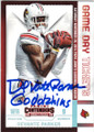 DeVANTE PARKER UNIVERSITY OF LOUISVILLE CARDINALS AUTOGRAPHED ROOKIE FOOTBALL CARD #21616L