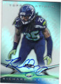 RICHARD SHERMAN SEATTLE SEAHAWKS AUTOGRAPHED FOOTBALL CARD #21716A