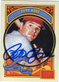 PETE ROSE CINCINNATI REDS AUTOGRAPHED BASEBALL CARD #21716E