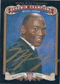 MICHAEL JORDAN CHICAGO BULLS AUTOGRAPHED BASKETBALL CARD #21716H