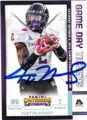 JUSTIN HARDY EAST CAROLINA UNIVERSITY PIRATES AUTOGRAPHED ROOKIE FOOTBALL CARD #21716L