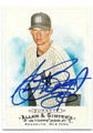 AJ BURNETT NEW YORK YANKEES AUTOGRAPHED BASEBALL CARD #21816D