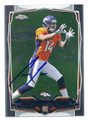 CODY LATIMER DENVER BRONCOS AUTOGRAPHED ROOKIE FOOTBALL CARD #21816G