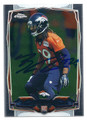 BRADLEY ROBY DENVER BRONCOS AUTOGRAPHED ROOKIE FOOTBALL CARD #21816L