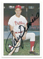 ROY SIEVERS PHILADELPHIA PHILLIES AUTOGRAPHED VINTAGE BASEBALL CARD #21916D
