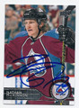 NATHAN MacKINNON COLORADO AVALANCHE AUTOGRAPHED HOCKEY CARD #21916G
