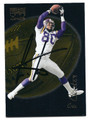 CRIS CARTER MINNESOTA VIKINGS AUTOGRAPHED FOOTBALL CARD #21916K
