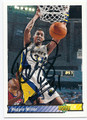 REGGIE MILLER INDIANA PACERS AUTOGRAPHED BASKETBALL CARD #22016A