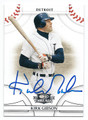 KIRK GIBSON DETROIT TIGERS AUTOGRAPHED BASEBALL CARD #22116E