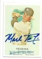 MARK TEIXEIRA NEW YORK YANKEES AUTOGRAPHED BASEBALL CARD #22116K