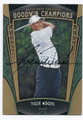 TIGER WOODS AUTOGRAPHED GOLF CARD #22216i