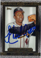 HANK AARON MILWAUKEE BRAVES AUTOGRAPHED BASEBALL CARD #22316C