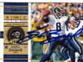 SAM BRADFORD ST LOUIS RAMS AUTOGRAPHED FOOTBALL CARD #22316i
