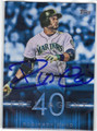 ROBINSON CANO SEATTLE MARINERS AUTOGRAPHED BASEBALL CARD #22316J