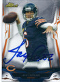 JAY CUTLER CHICAGO BEARS AUTOGRAPHED FOOTBALL CARD #22416A