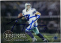 TONY ROMO DALLAS COWBOYS AUTOGRAPHED FOOTBALL CARD #22416G