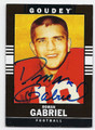 ROMAN GABRIEL NORTH CAROLINA STATE AUTOGRAPHED FOOTBALL CARD #22516B
