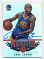 CARL LANDRY GOLDEN STATE WARRIORS AUTOGRAPHED BASKETBALL CARD #22716B