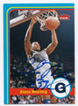 ALONZO MOURNING GEORGETOWN HOYAS AUTOGRAPHED BASKETBALL CARD #22716F