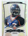 ALPHONSO SMITH DENVER BRONCOS AUTOGRAPHED & NUMBERED ROOKIE FOOTBALL CARD #22816C